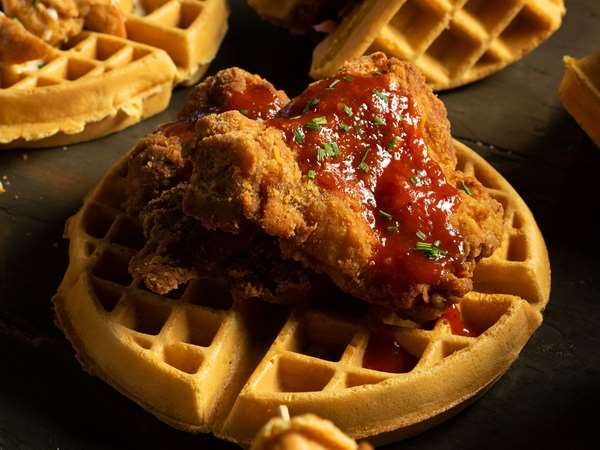The Dirty Bird Chicken & Waffles ODB 3 Kensington Ave Toronto On Canada